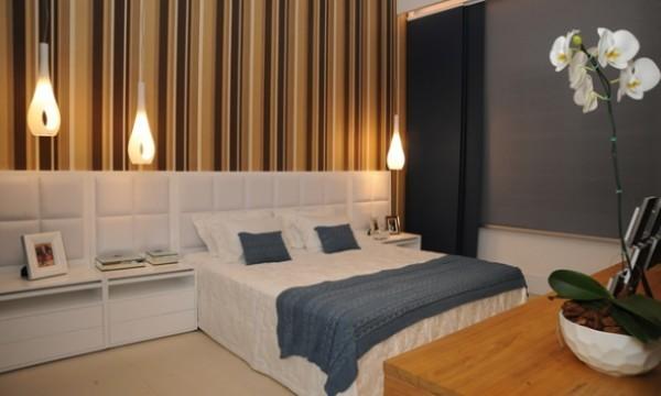 decoração para quarto de casal estilo moderno
