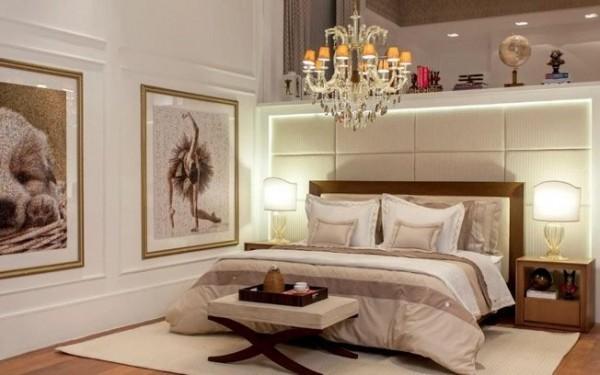 Foto de decoração de quarto de casal