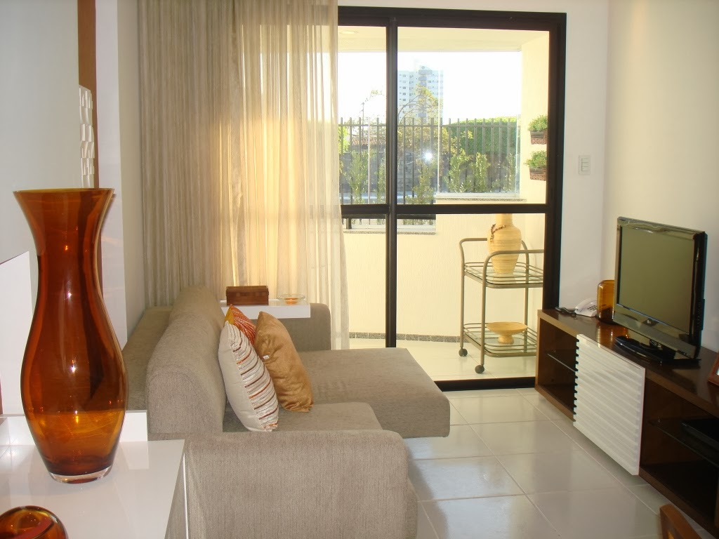 5 dicas de decora o para sala pequena site de beleza e moda for Grado medio decoracion de interiores