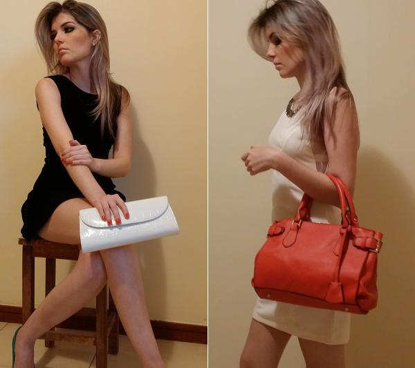 Duas bolsas femininas