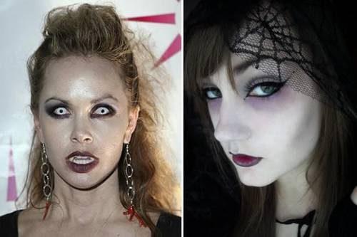 Foto de maquiagem para Halloween