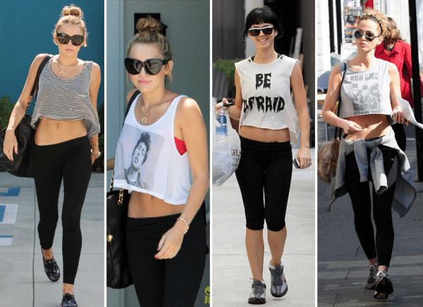 Cropped é uma das tendências da moda fitness 2015