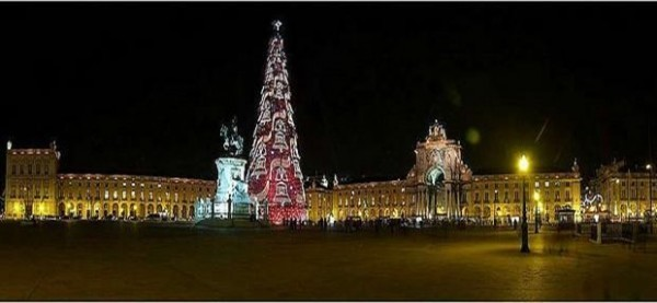 Lisboa Portugal Lugar para passar o Natal