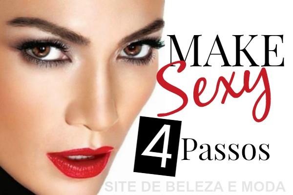 Veja como fazer uma maquiagem sensual em 4 passos