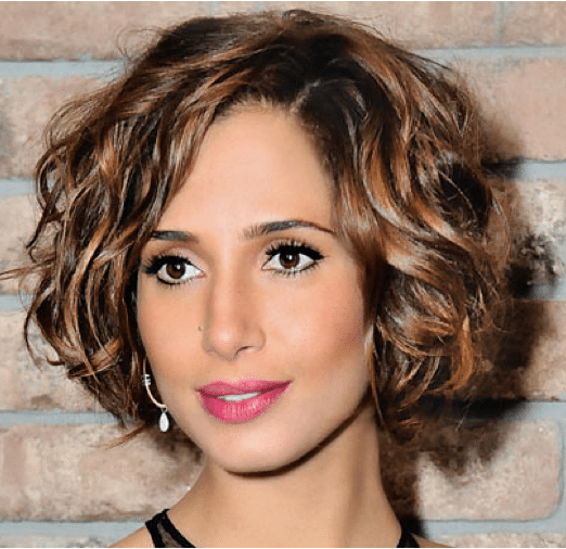 modelo de Penteado para cabelo curto