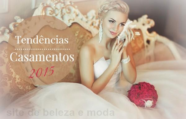 Tendências para Casamentos 2015
