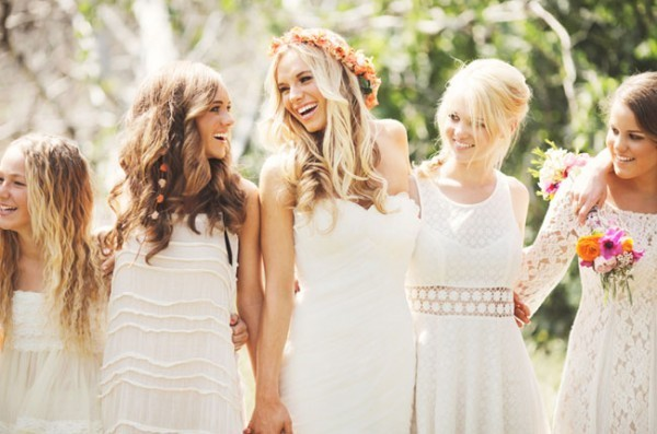 Boho-weddings é uma das Tendências para Casamentos 2015