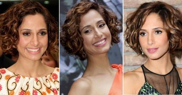 modelos de cabelos curtos cacheados