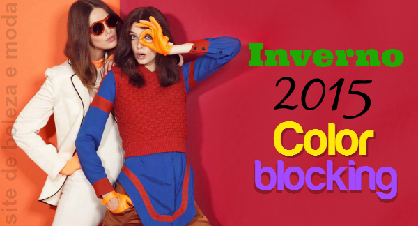 Inverno 2015 Color blocking