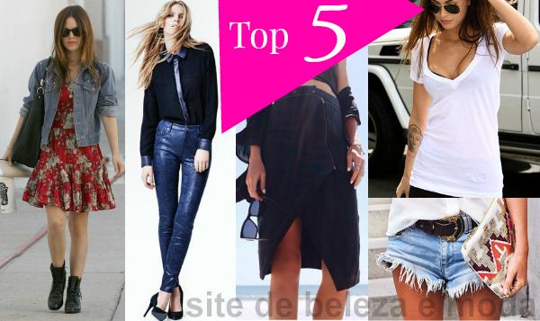 Top 5 peças de roupa para vestir em todas estações
