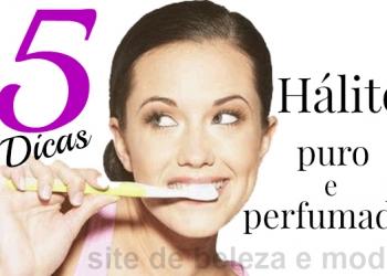 5 dicas para ter um hálito puro e perfumado