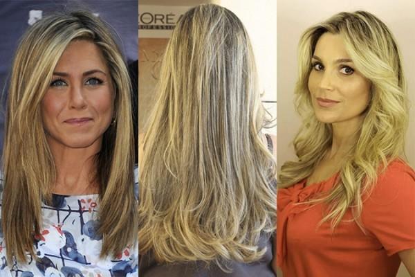 Luzes é uma das técnicas para clarear o cabelo