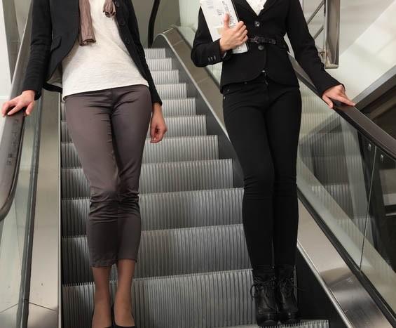 Calça social ou pantalona completam o visual da mulher elegante