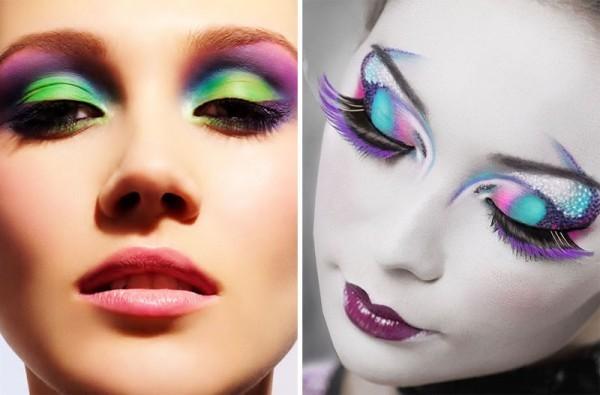 Maquiagem de carnaval diferente