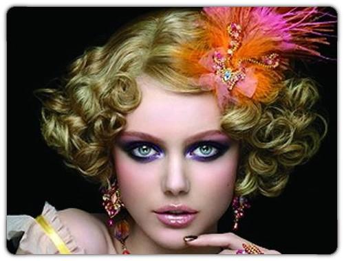 Modelo de Maquiagem de carnaval