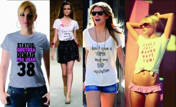 Camisetas para Mulheres personalizadas