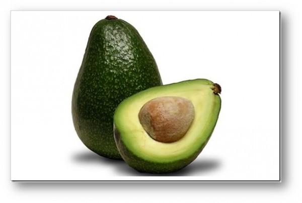 abacate para o tratamento dos cabelos danificados