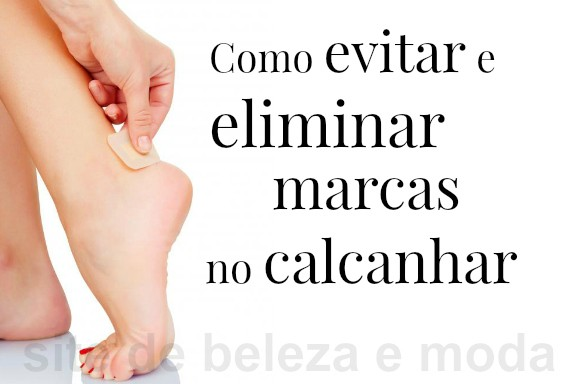 marcas no calcanhar