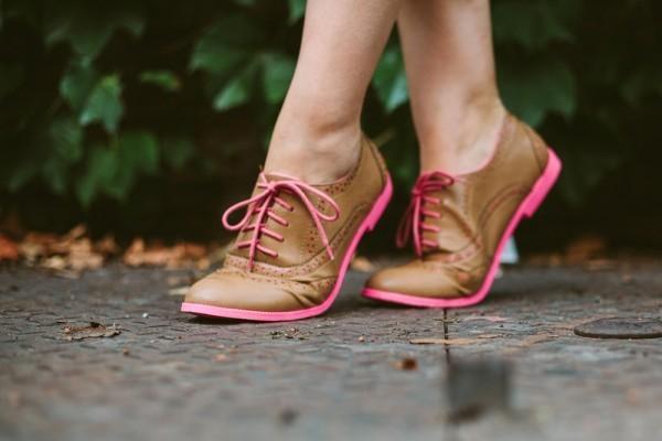 Looks para ir a escola com sapatos oxford