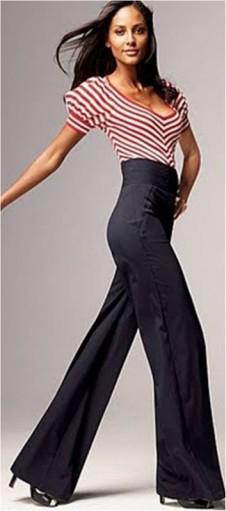 Calça para mulheres de pernas curtas