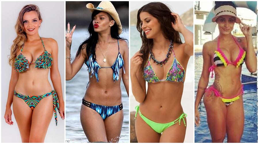 Cores da moda praia 2015
