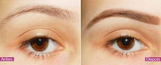 preencher as sobrancelhas na maquiagem para madrinha