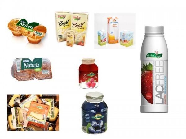 produtos sem lactose