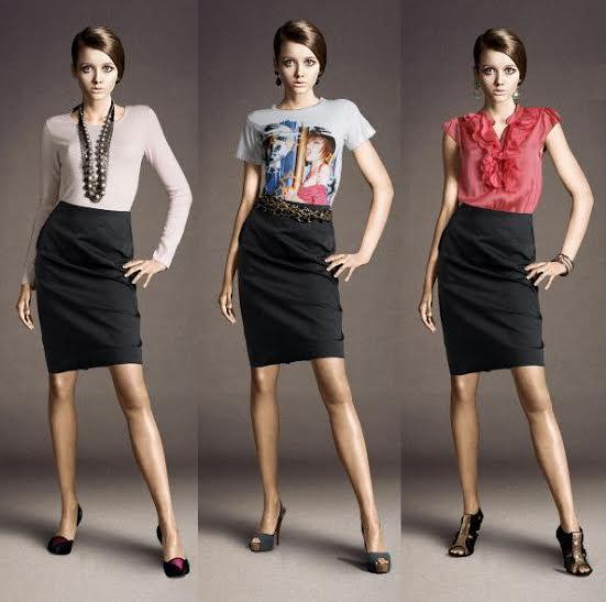saias para mulheres com pernas curtas