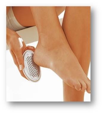 tratar pés ressecados