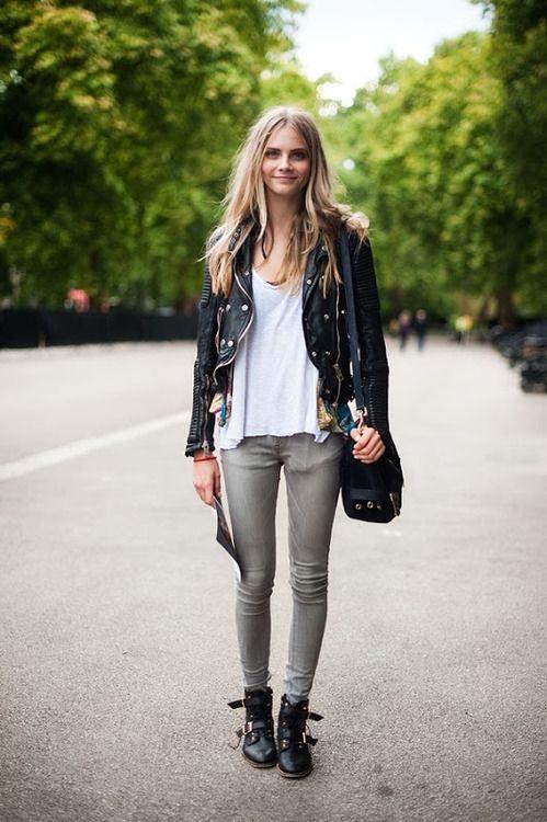 uma das tendências que estarão em alta é a jaqueta de couro