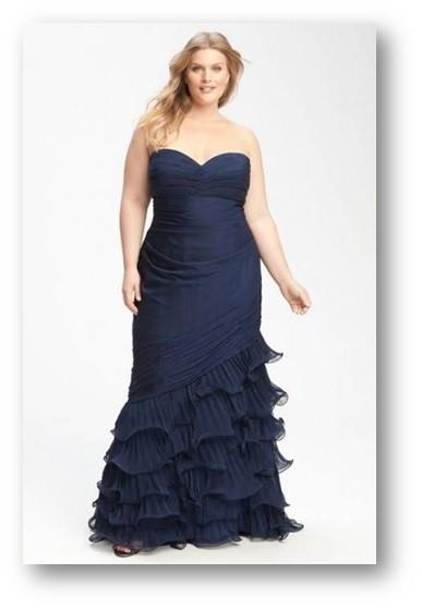 vestido ajustado plus size