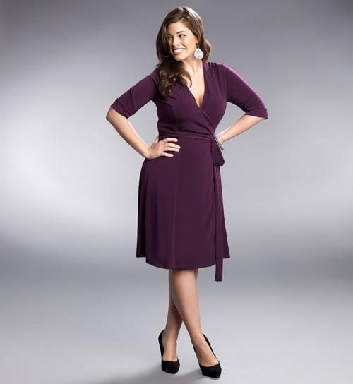 vestido envelope para mulheres com coxas grossas