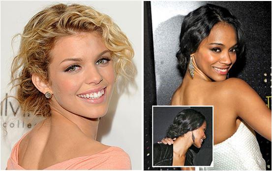 celebridades que usam Cabelos cacheados