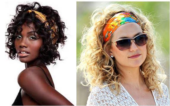 mulher negra e mulher loira usando Cabelos cacheados