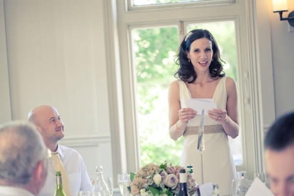 Discurso na festa de casamento
