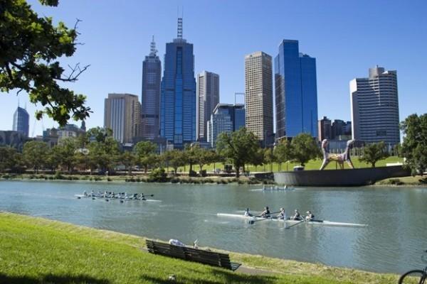 Viajar sozinha para Melbourne