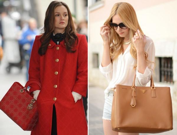 combinar roupas e bolsas com estilo