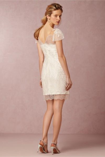 Vestido de noiva curto para casamento no verão