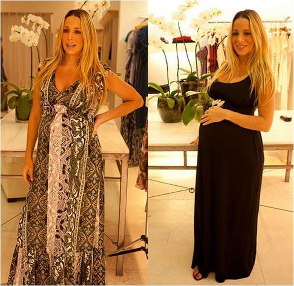 vestidos de festa para grávidas elegantes