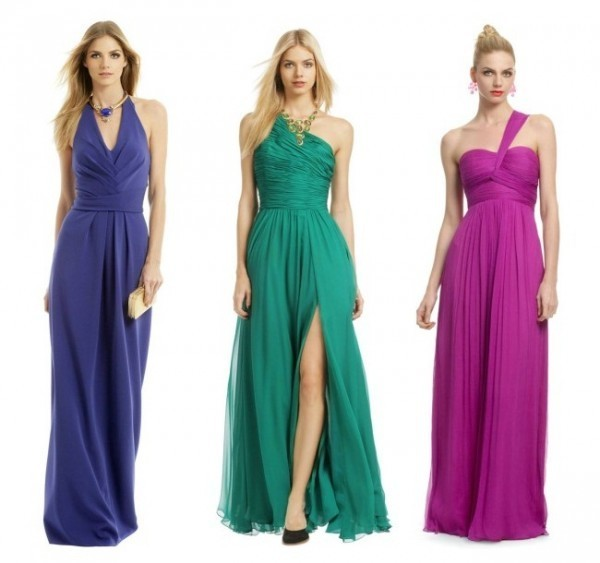 Modelos de vestidos para madrinhas de casamento no verão