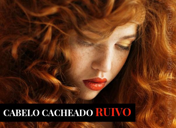 Como cuidar de cabelo cacheado ruivo