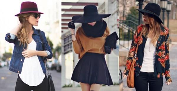 Chapéus entre os acessórios para o outono e inverno