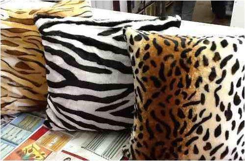 Tecidos que imitam pele de animal deixa a Decoração da casa brega