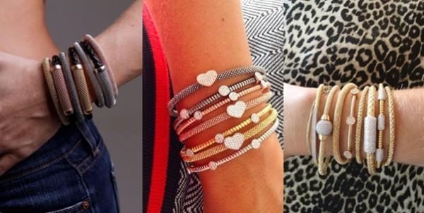 braceletes italianos entre os acessórios da moda outono e inverno