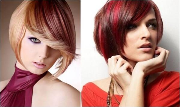 cabelo curto perfeito com coloração