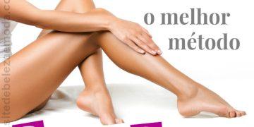 Descubra o melhor método de depilação definitiva