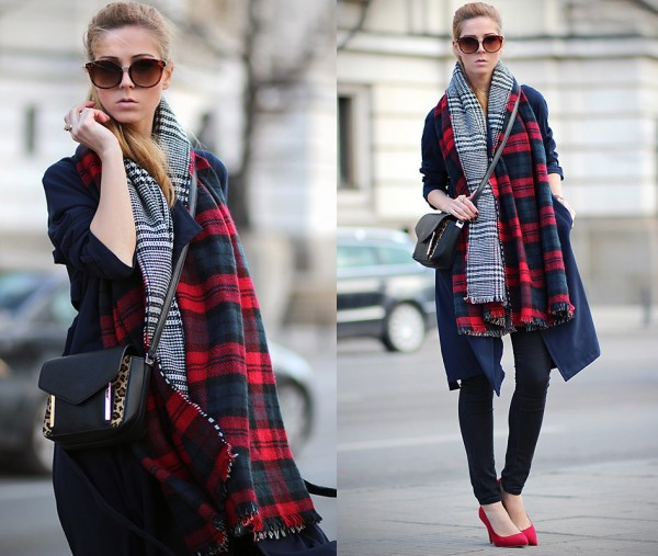 looks com echarpes e cachecóis para o inverno 2015
