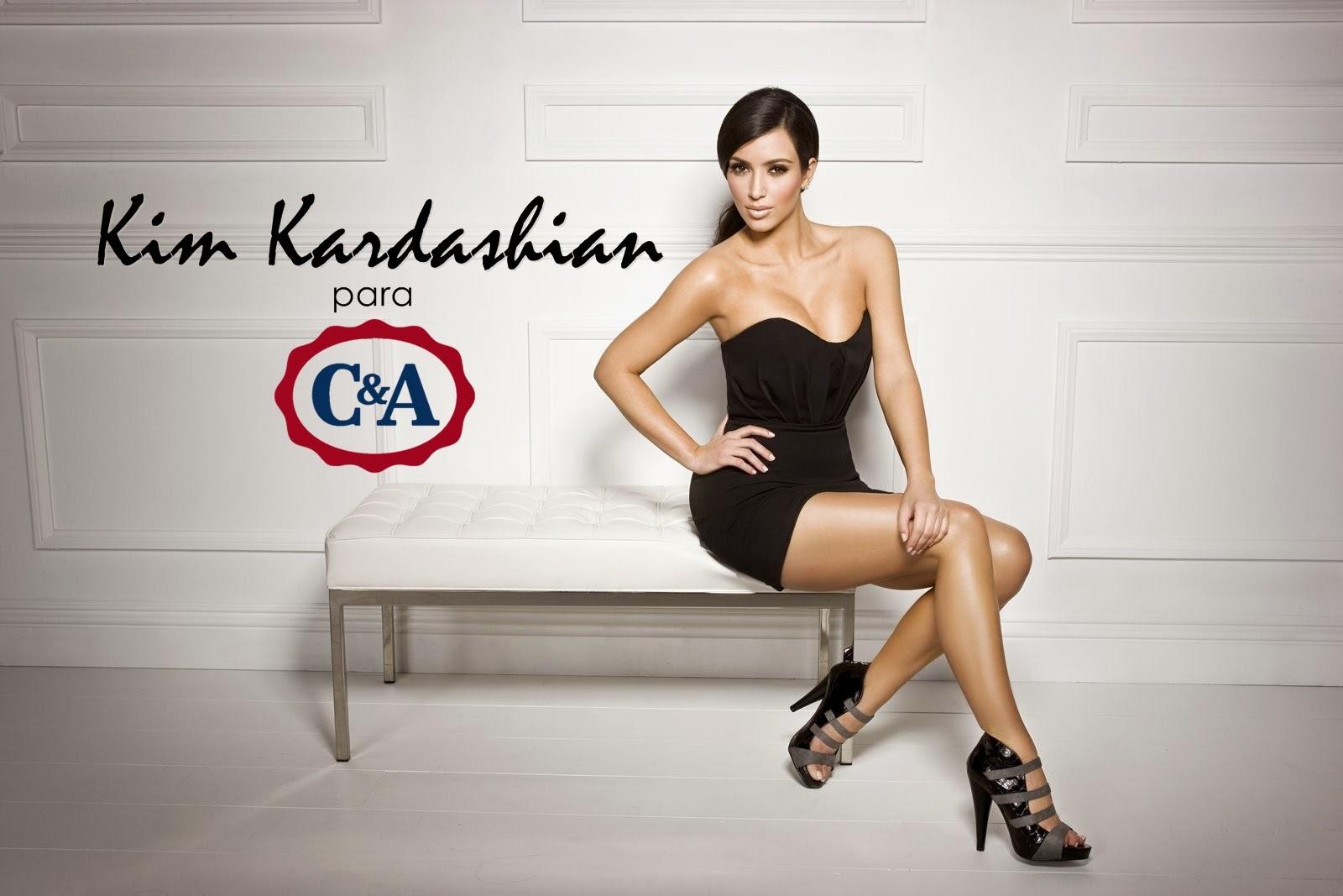 Kim Kardashian lança sua aguardada coleção para a C&A