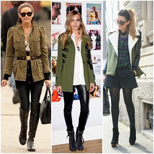 militarismo moda inverno 2015