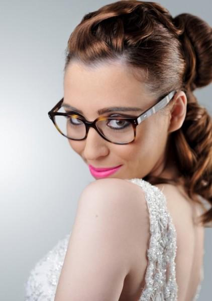 modelo de óculos para noivas